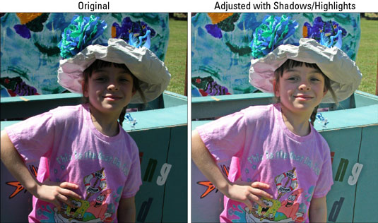 Adjusting Shadows/Highlights Using Photoshop