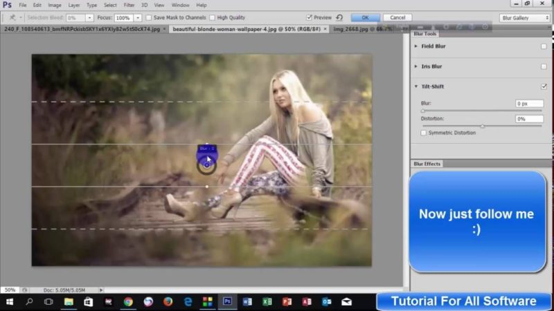 Remove Image Blur Without Disturbing Image