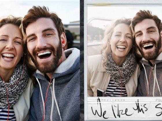Add a Polaroid-style photo frame in Photoshop