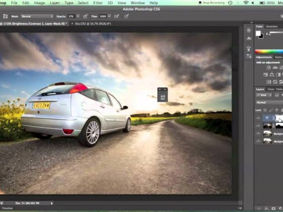 How to Do Contrast Masking Using Photoshop CS6