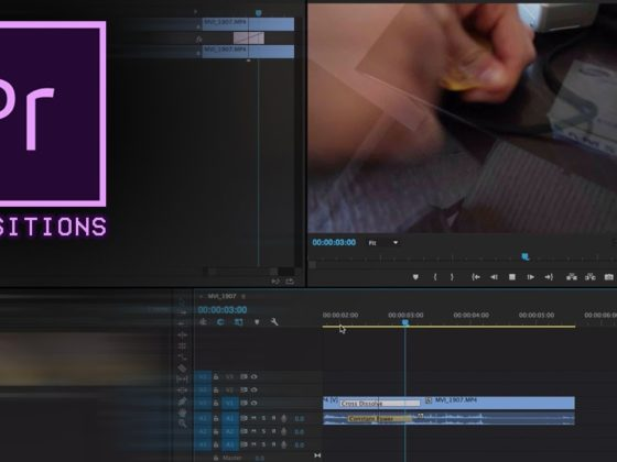 Add A Transition Effect Using Premiere Pro