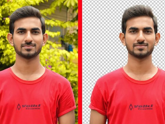 How to Extract A Person Using Pen Tool In Photoshop
