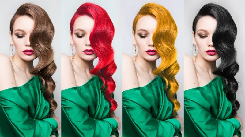 Change the Hair Color in Photoshop