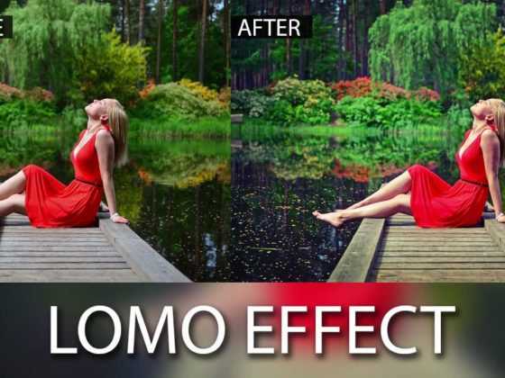 Lomo Effect Using Photoshop CS6