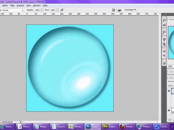 How to Create A Bubble Using Photoshop CS6