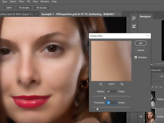 Softening Skin Using Channels In Photoshop