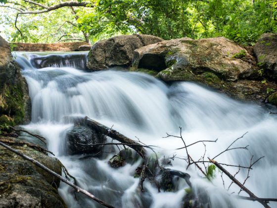 Add Silky And Steamy Waterfall Effect Using Photoshop